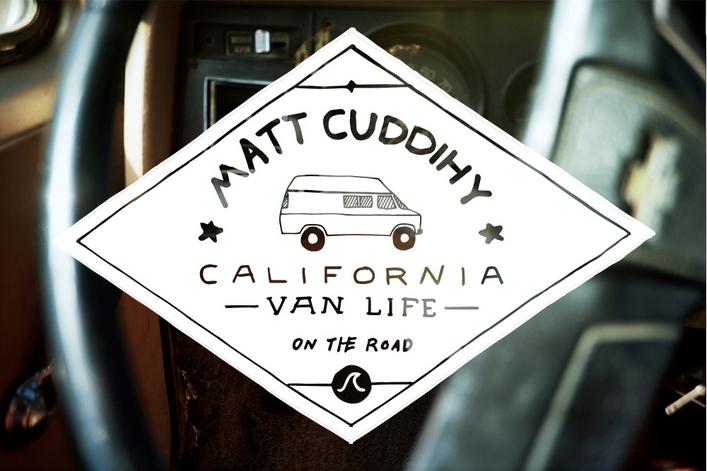 Matt Cuddihy x California x Van Life